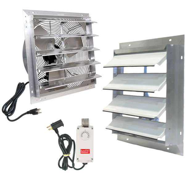 Plug In Exhaust Fan Vent System For