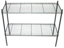 "18"" x 36"" Superior Greenhouse Benches bench, shelf, superior, greenhouse, kit, shelving, vented, metal, adjustable, benches, shelves, garden, table"