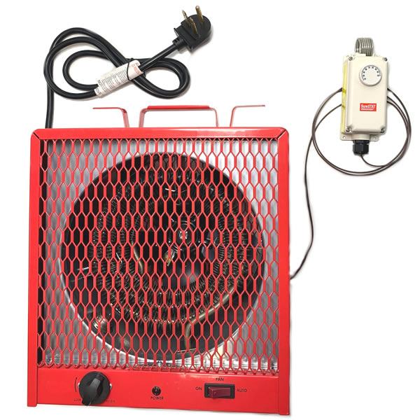 240v Electric Space Heater With, 220 Volt Electric Garage Heater