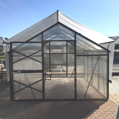 "5' 3"" Grow More Raised Shade Kit for GM8  grow, more, greenhouse, kits, hobby, sale, small, polycarbonate, diy, backyard, winter, garden, aluminum"