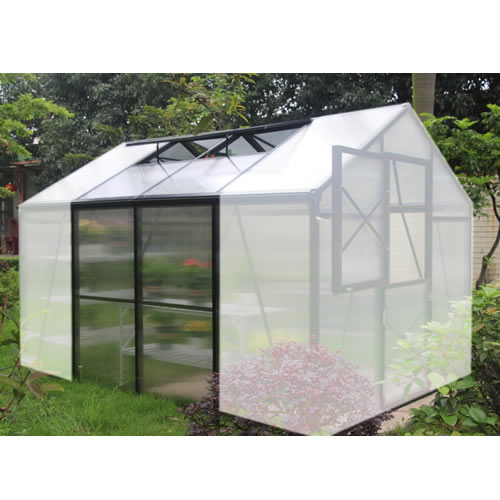 Grow More 6 1/2 Greenhouse Extension for GM10 grow, more, greenhouse, kits, hobby, sale, small, polycarbonate, diy, backyard, winter, garden, extension