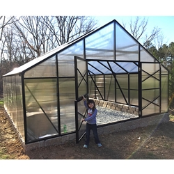 GM16 - Grow More 16 x 13 Greenhouse Kit greenhouse, kit, commercial, near, me, backyard, hobby, grow, more, green, house, pro, professional