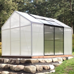 "Grow More 5' 3"" Greenhouse Extension for GM8 grow, more, greenhouse, kits, hobby, sale, small, polycarbonate, diy, backyard, winter, garden, extension"