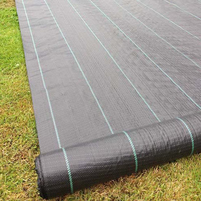 Ground Cover / Weed Barrier (10 Wide) greenhouse, ground, cover, weed barrier, custom, cut, garden, landscape, fabric
