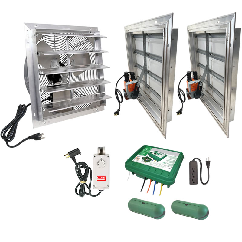 Plug And Play Exhaust Fan Vent System