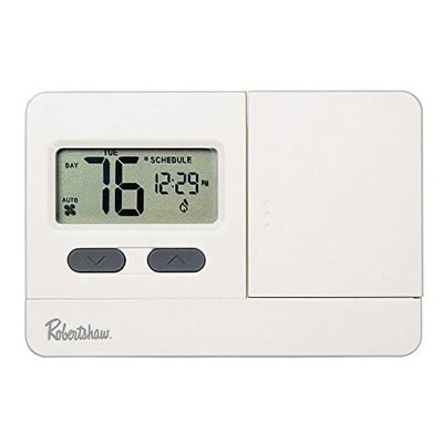 RobertShaw Programmable Heating Thermostat thermostat, heating, low, voltage, programmable, digital, thermastat, best, heater, heat, 24