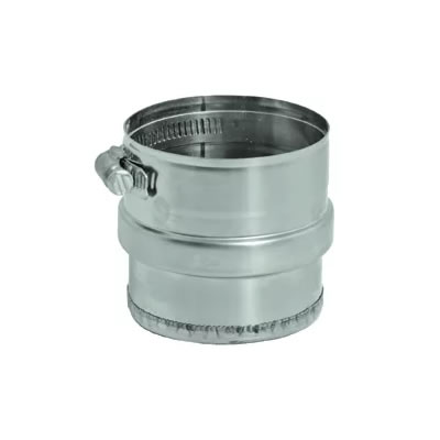 Stainless Steel Category 3 Vent Tee Condensate Cap vent, flue, duct, pipe, furnace, exhaust, gas, modine, sterling, heater, category, tee, condensate, cap
