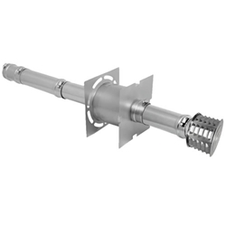 Sterling GG Category 3 Horizontal Vent Systems  sterling, gg, beacon, morris, vent, category, horizontal, stainless, steel, flue, exhaust, cat