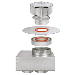 Sterling XF Concentric Vent Kit  sterling, xf, concentric, vent, kit, flue, exhaust, separated, combustion, sealed, X7-H5, X7-H6, X7-V5, X7-V6