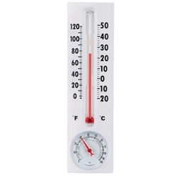 Thermometer with Humidity Gauge