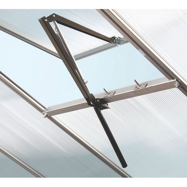 Greenhouse Window Opener Automatic Solar Powered Temperature Controlled Vent Opener Up to 7kg Load