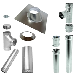 Vertical Pipe Kit for Sterling GG Concentric Vent sterling, gg, concentric, vent, kit, flue, exhaust, ,vertical, pipe, beacon, morris, venting, heater, gas