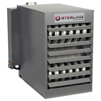 Sterling TF125 Gas Heater sterling, tf, 125, heater, gas, propane, tf, furnace, greenhouse, shop, natural, dayton, beacon, morris