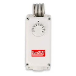 SureStat TS200 2 Stage Thermostat Control thermostat, 2, two, stage, control, heating, cooling, water, proof, tight, weather, greenhouse, wet