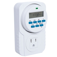 7 Day Programmable Timer timer, programmable, grow, light, plant, greenhouse, mist, misting