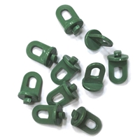 Greenhouse Plant Hangers & Bubble Clips (10 pack) clip, bubble, plant, hanger, hanging, greenhouse, frame, plastic