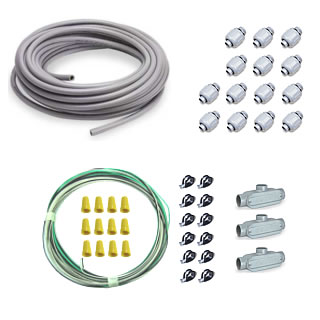 Watertight Fan System Wiring Kit fan, wiring, kit, wire, greenhouse, exhaust, conduit, electrical