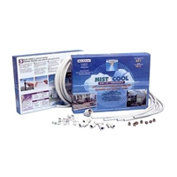 "3/8"" Flexible Mist System (12 nozzle) mist, misting, greenhouse, flexible, nozzles, cooling patio, evaporative"